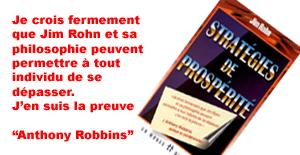 Stratégies de Prospérité Jim Rohn :-)
