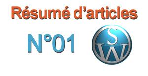 Résumé d'Articles N°01 - 19 septembre 2011
