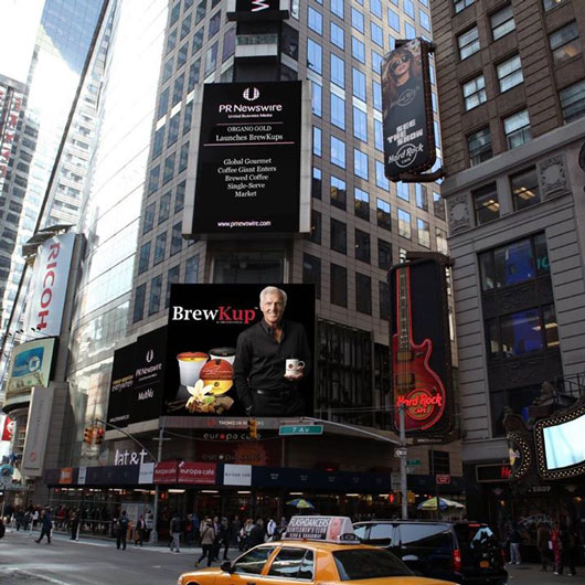 Organo-New-York-Time-Square